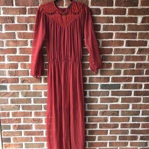 Long dress size xs woman's NWOT